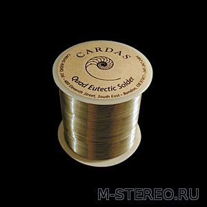 CARDAS AUDIO Quad Eutectic Roll Solder, 100 gm